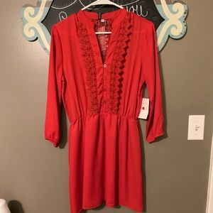 NWT red dress!